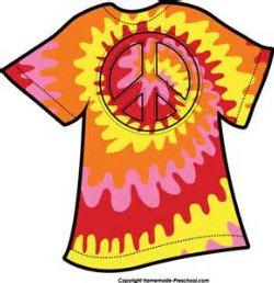 peace out to drugs u201d wear peace signs or tie dye shirt moffitt rh moffittmax org tie dye letters clip art tie dye shirt clip art